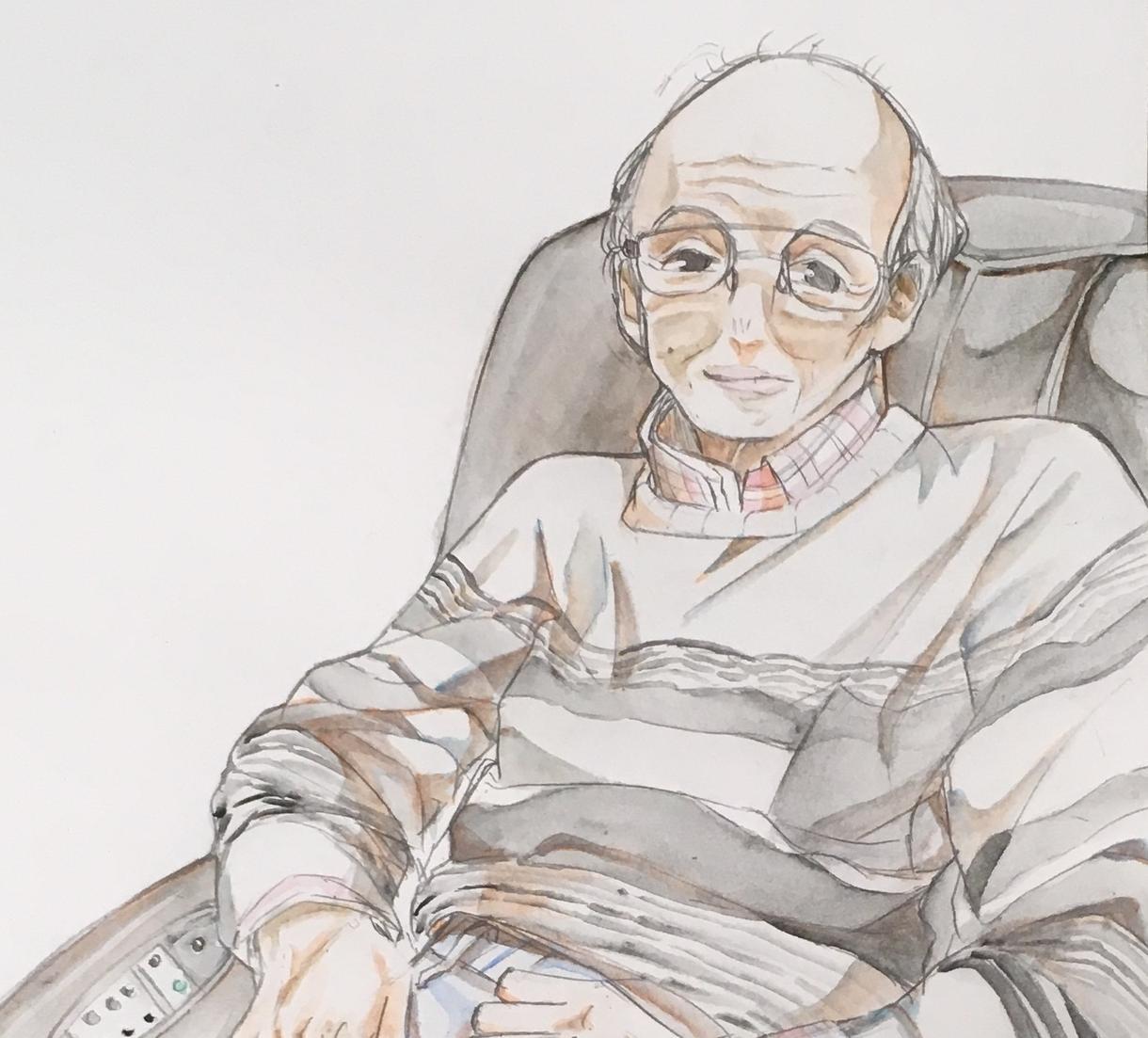 アナログで人物の似顔絵イラストを描きます 観賞用、アイコン用、プレゼント用などにおススメです。