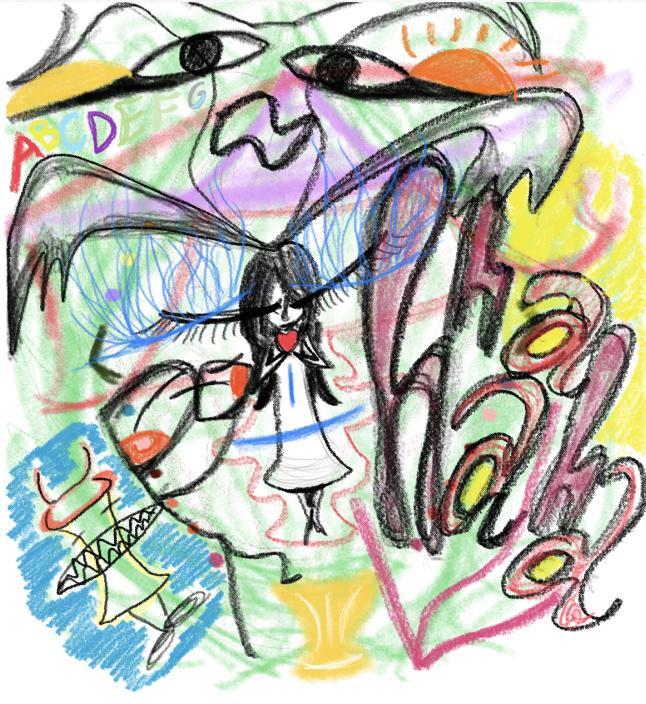 お名前カラーリーディングします 名前から視える色から絵を描いて占います