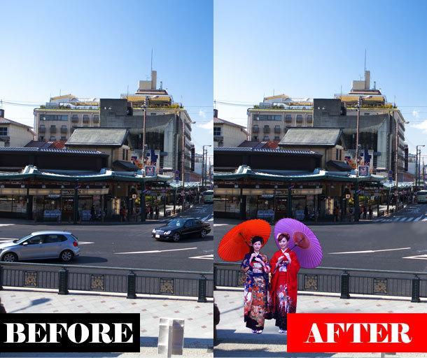 切抜き・色変更・修正。簡単な画像加工。即対応します 手持ちの写真をどうにかしたい…ならご相談を