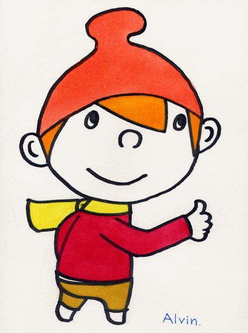 子ども向けのイラストを描きます。