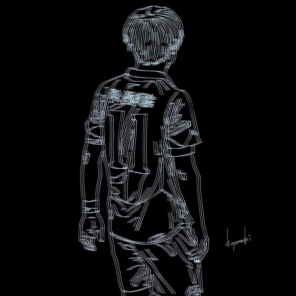 あなたの似顔絵を3D線画で描かせて頂きます 世界に1つだけのあなただけの3D線画