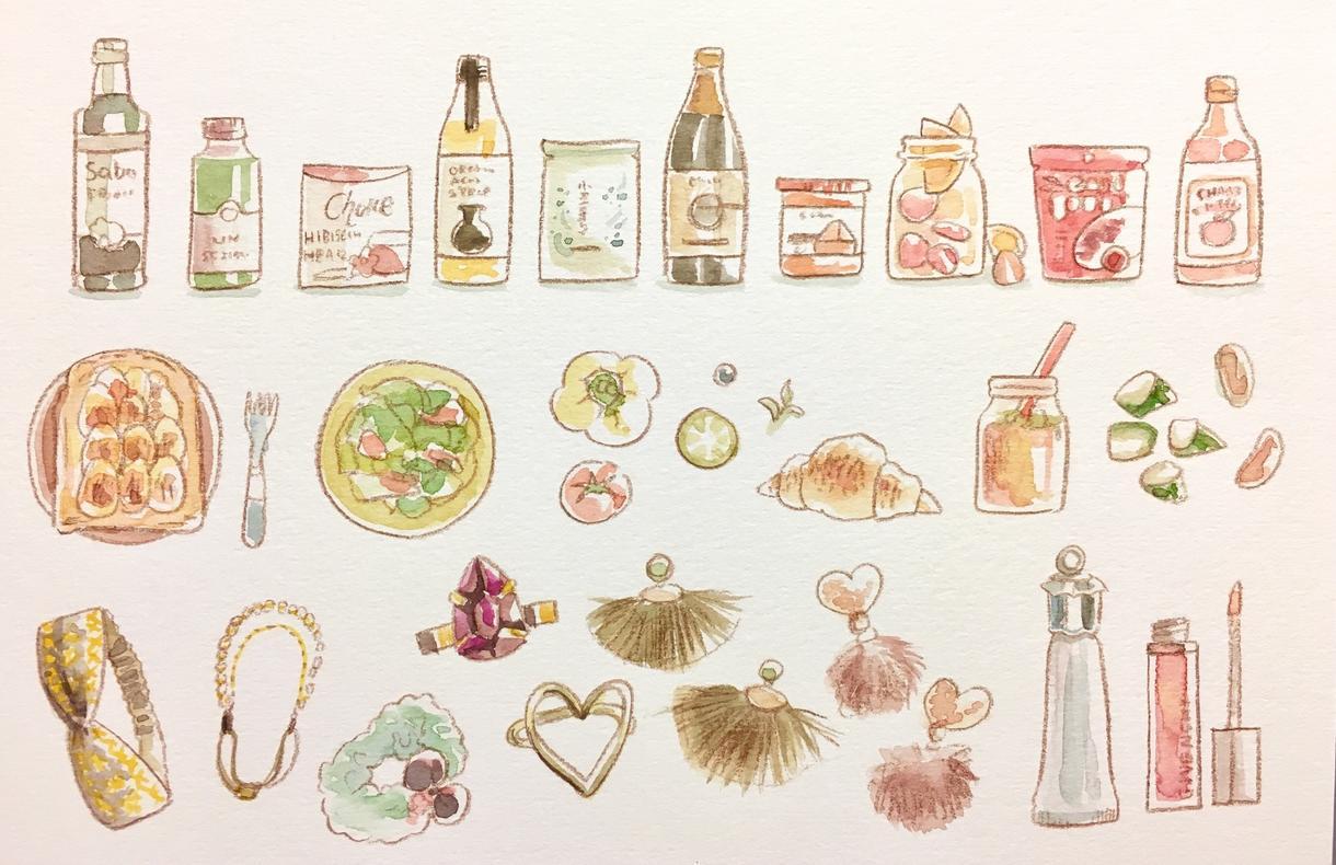 クリスマスにも!ちいさな可愛いイラスト描きます アイコンや、印刷してカットに使ったり、手芸の図案にもどうぞ♪
