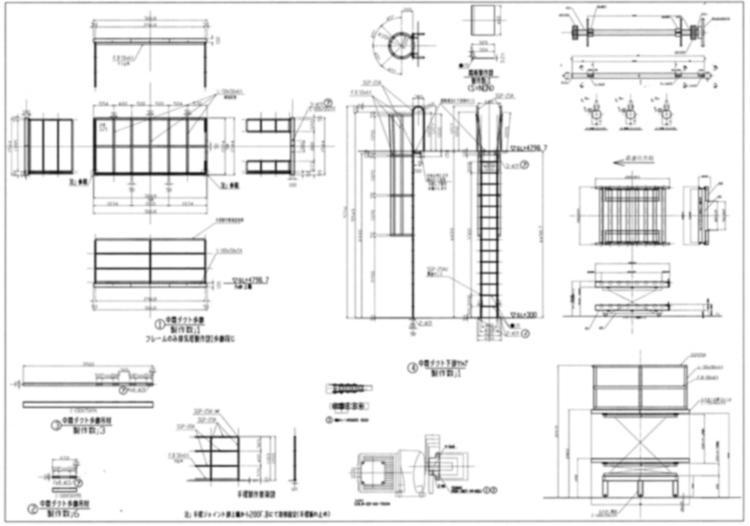AUTOCADにて図面作成いたします 機械/建築/電気/階段/製缶などの図面を作成いたします。