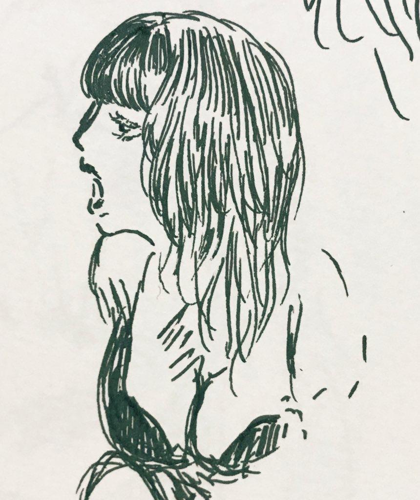 ゆるーい雰囲気の似顔絵描きます だれとも被らないオリジナルのアイコンつくりませんか イメージ1
