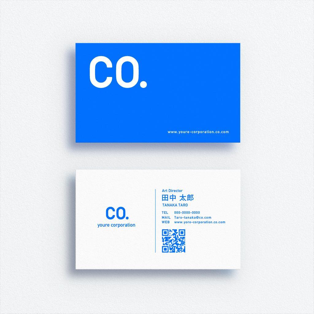 ロゴデザイン&名刺デザインを行います ロゴと名刺100枚(印刷費込)のセットで提供します。 イメージ1