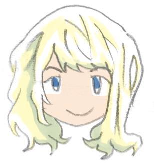 女性の顔のイラストアイコンを描きます 温かみがありカワイイ感じで仕上げます