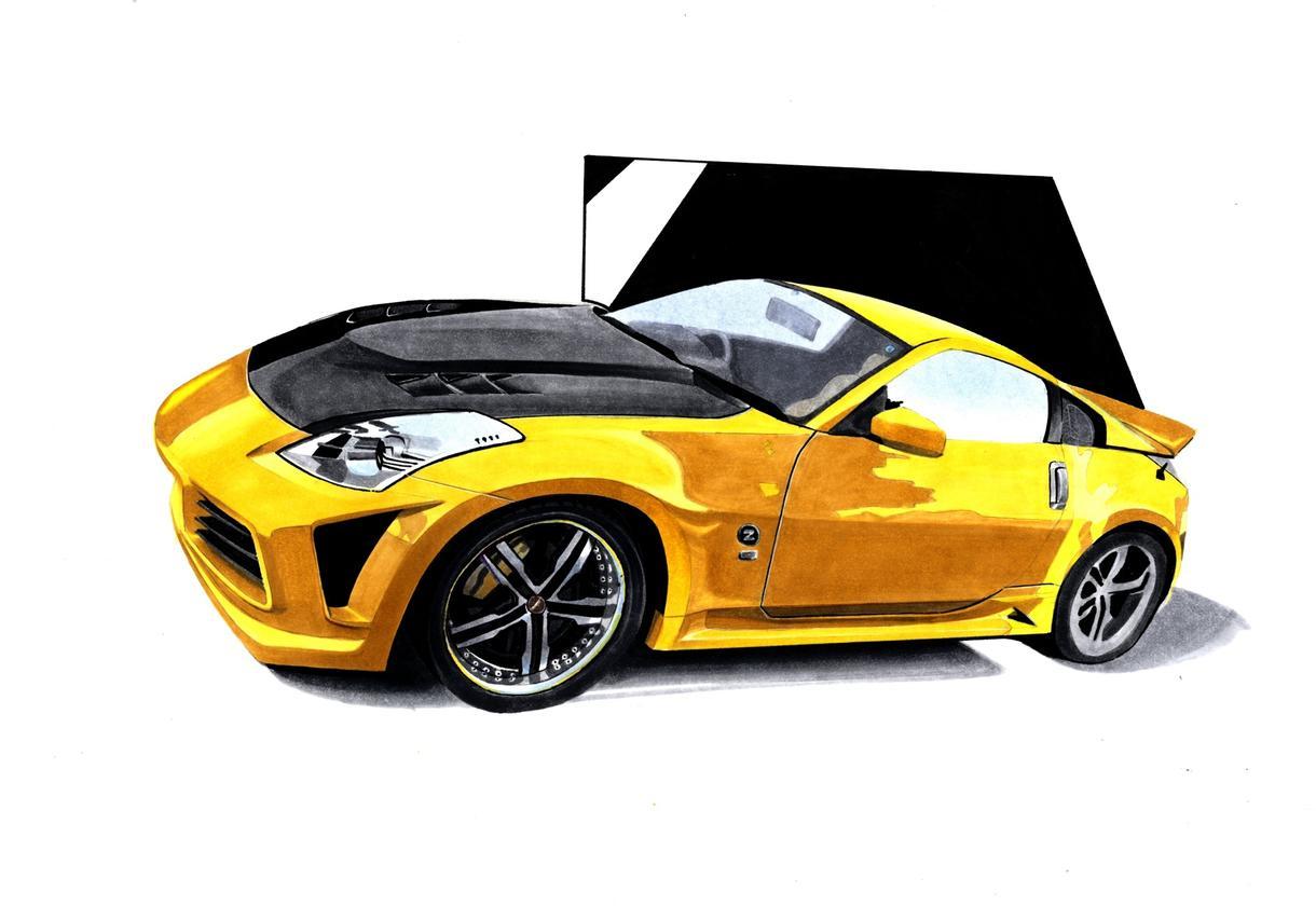 貴方の大切な愛車をお描きします 愛車を写真とは別の形で残してみませんか( *`ω´)キリッ