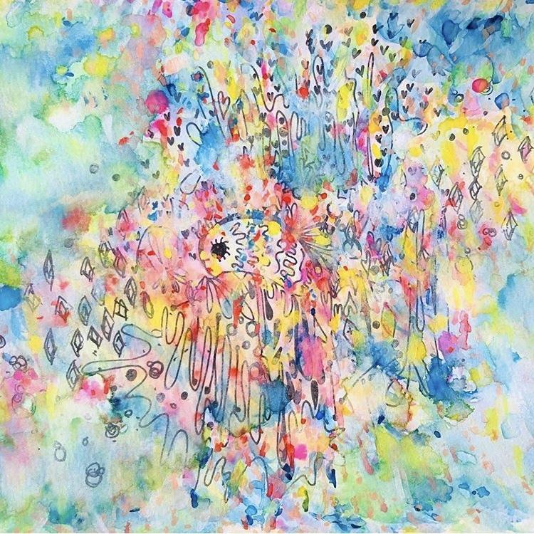 見た人の心に命を吹き込む絵を描きます 絵を見た時に受け取りたいエネルギーはどんなものですか?