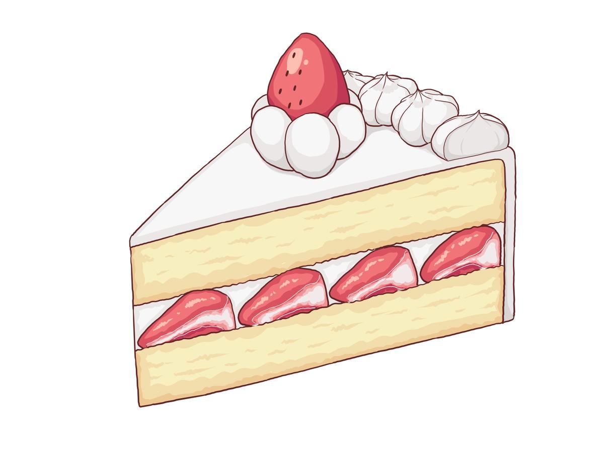 お菓子・スイーツイラストお描きします メニュー表、POP、アイコン、ゲーム内アイテム等に使用可能 イメージ1