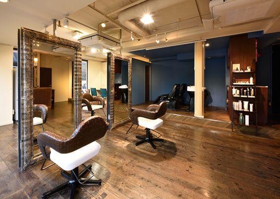 プロが理想の美容室をデザインします お洒落でかっこいい美容室を作りたい方必見!!
