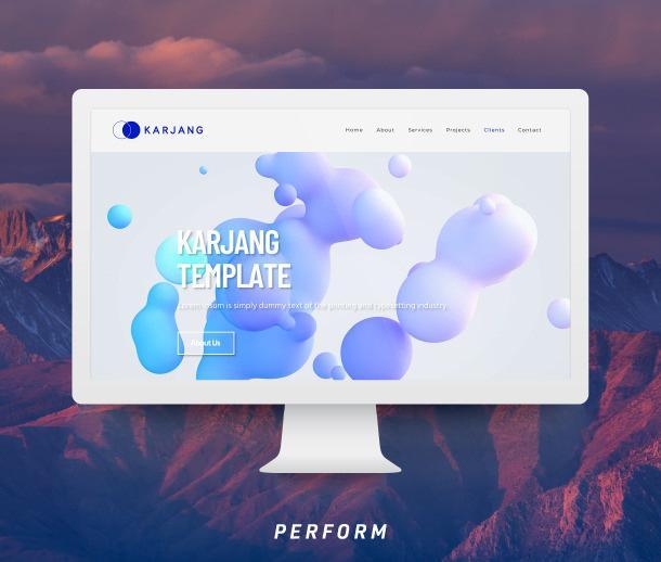 デザイナーテンプレからホームページ(A)を作ります テンプレから作るので、割安で納期も短縮!(KRJ) イメージ1
