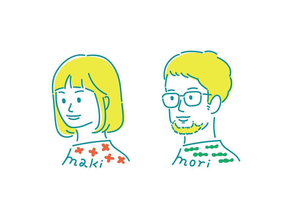 ヘルシーなシンプルフェイス描きます 名刺やアイコンに使える!名入れサービス!※サンプル画像追加