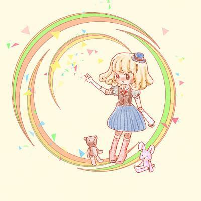 アイコン、イラスト描きます ゆる可愛い女の子のアイコンなどいかがですか?