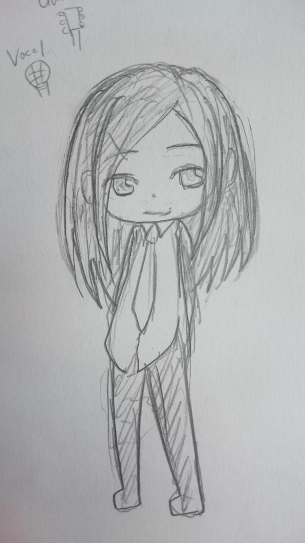 ミニキャラを描きます。等身は2~6等身まで受け付けます。