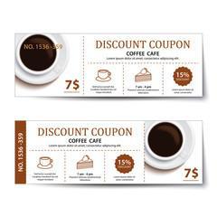お店のスタンプカード・割引チケットを制作します カフェ・飲食店の方必見!お店に合ったデザインでお作りします!