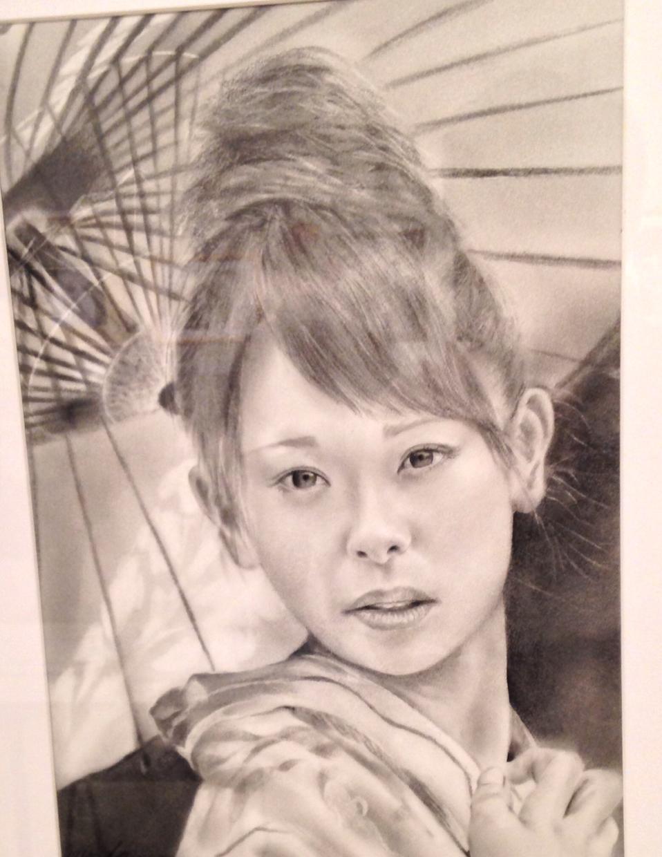 写真からモノクロ似顔絵を描きます。一生懸命描きます!ご依頼お待ちしております(≧∇≦)