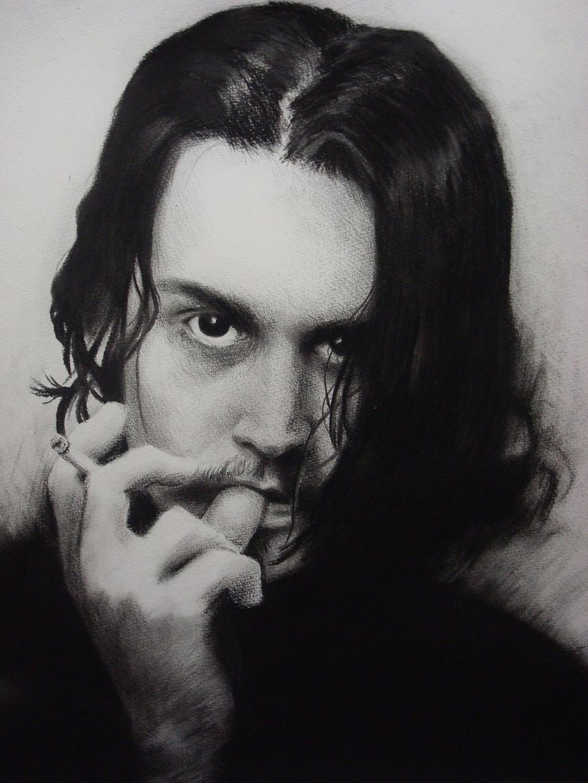 リクエストに応じてハリウッドスターや海外アーティストを鉛筆デッサンで似顔絵を描きます!!