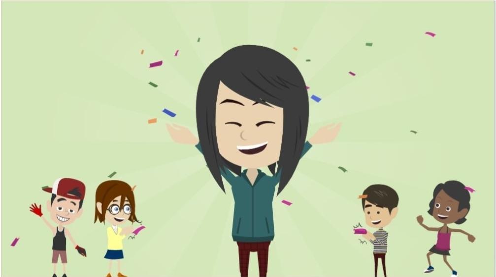 感動!ビジネスアニメーション動画を制作いたします 早い、安い、オモシロイ!30秒ビジネスアニメ動画です!