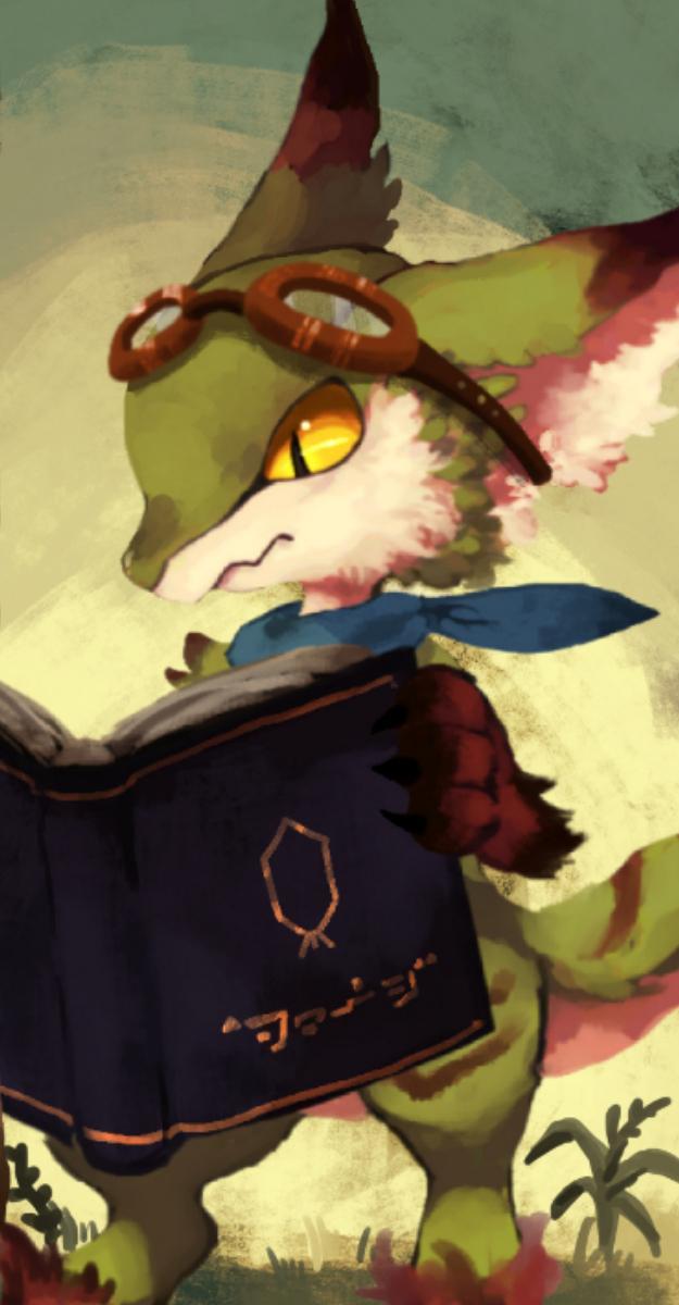 ドラゴン、獣人のイラスト制作承ります 挿絵、スチル、キャラデザなど。
