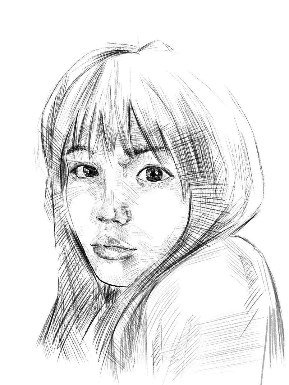 写真から味のある似顔絵を描きます SNSアイコン等に使える似顔絵提供します!