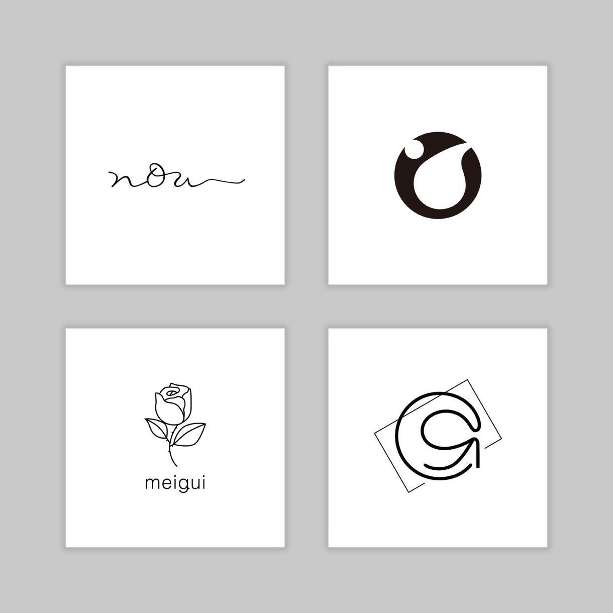 お手頃価格で!高品質なロゴを制作します 修正回数制限なし!あなたの理想のロゴを一緒に考えます
