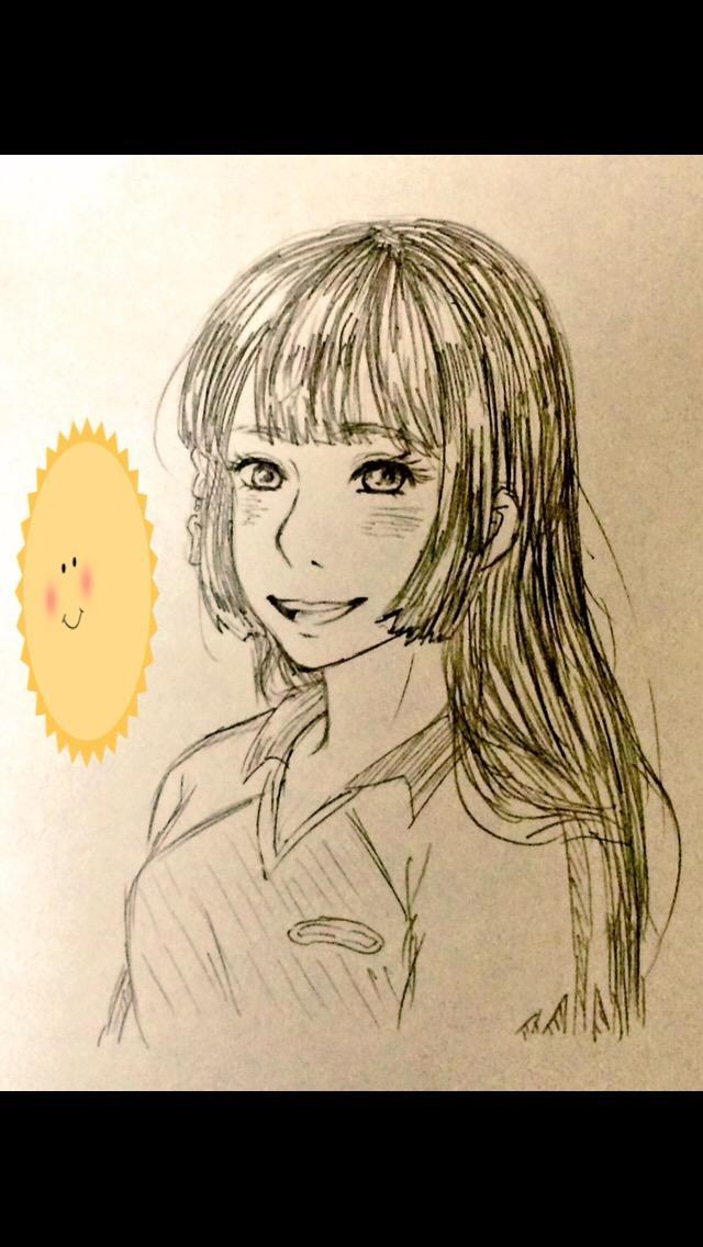 アナログであなたの似顔絵描きます ●お友達のプレゼントにもオススメ!