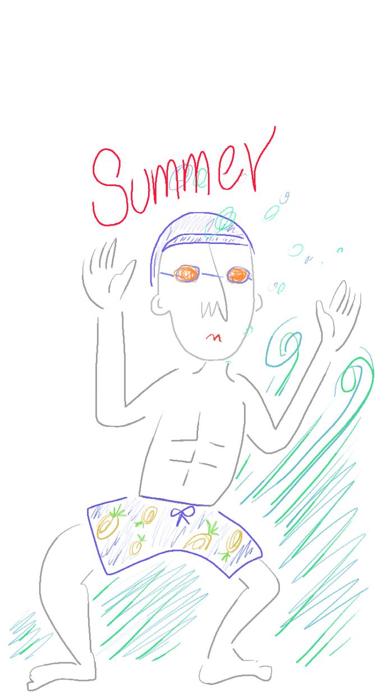 手描きクレヨン風の絵を描きます 名刺やハガキなど、SNSなどにもオススメ!