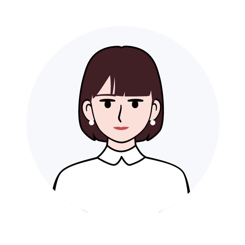 程よく真面目でシンプルな似顔絵アイコンを制作します 個人でもビジネスでも、様々なシーンで活用できます。 イメージ1