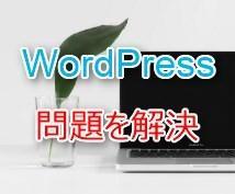 即対応!WordPressの困りごとを解決します WordPressで困っているあなたへお勧め!