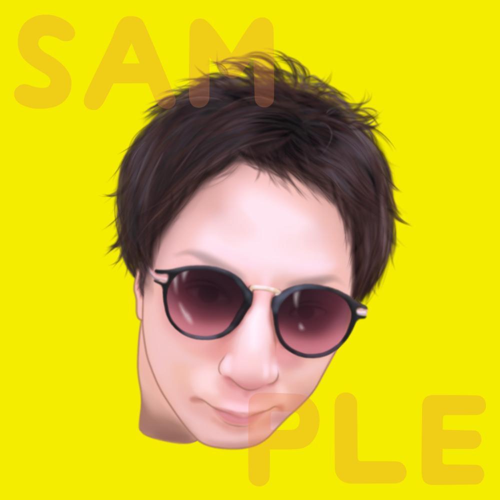 お写真を元に、そっくりな似顔絵をお描きします SNSアイコンやビジネスシーン、プレゼントなどにどうぞ!