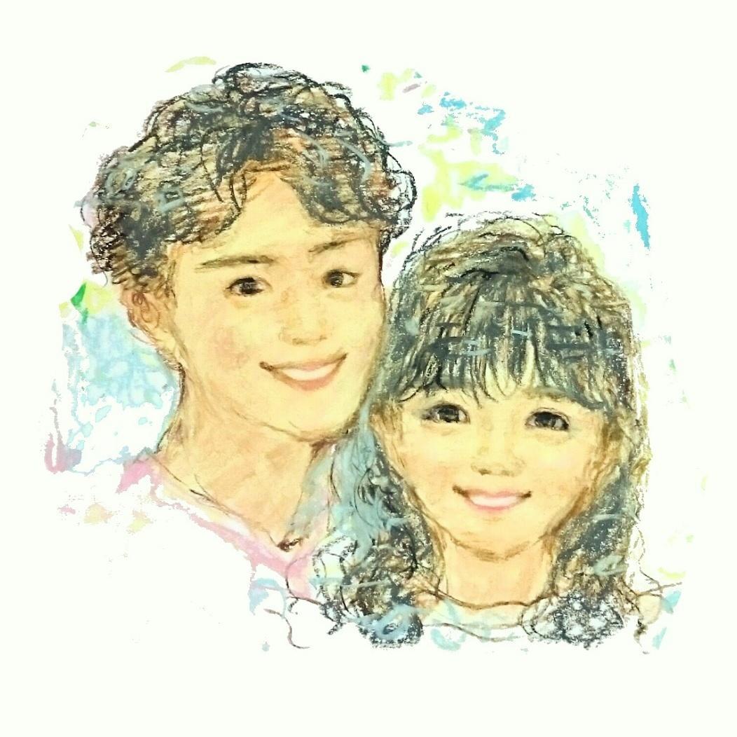 年賀状用似顔絵イラストお描きします オリジナル挿し絵。写真は恥ずかしいという方。1人¥3000~