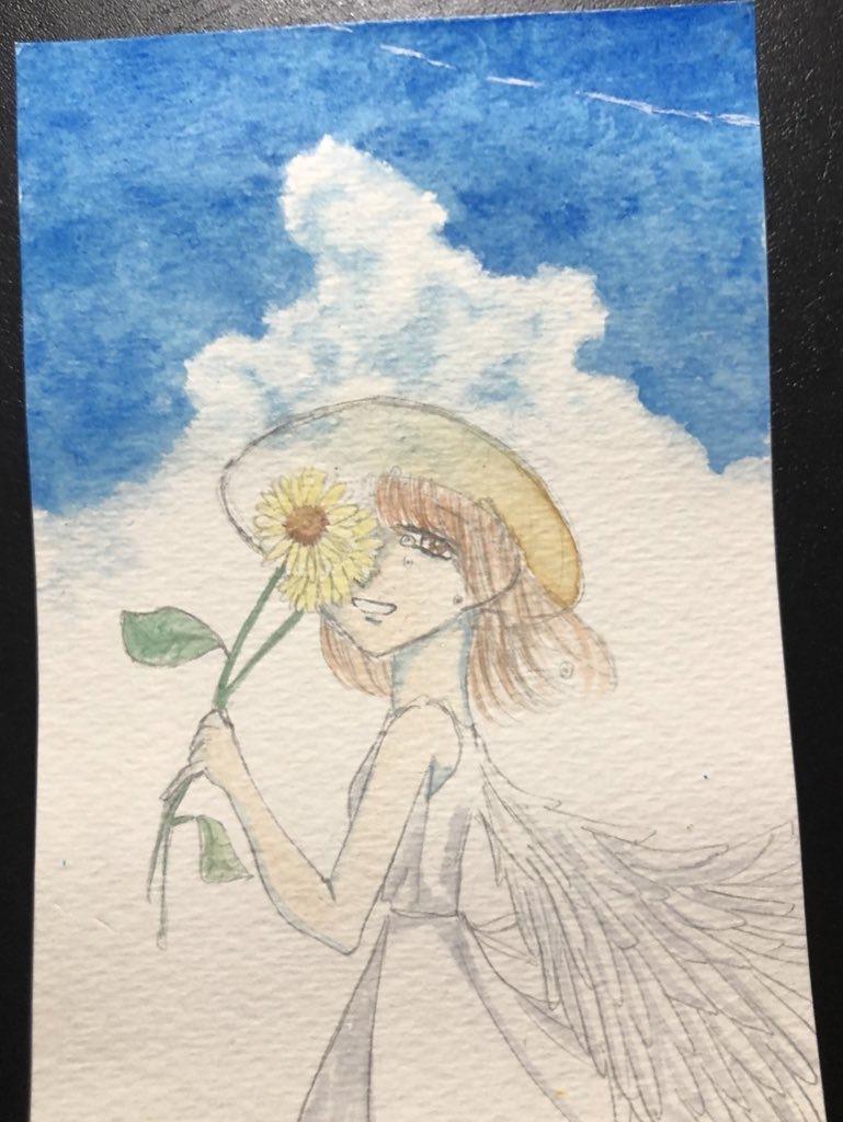 ハガキにイラスト描きます お手紙を添えて大切な人への贈り物にもどうぞ。 イメージ1
