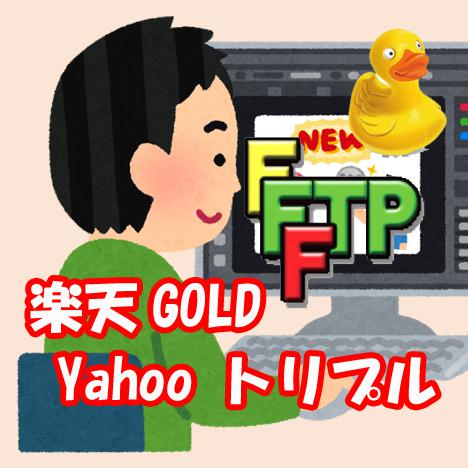 楽天GOLD・ヤフートリプルの使い方を教えます ゴールドサーバー、トリプルサーバーをご存知ですか イメージ1