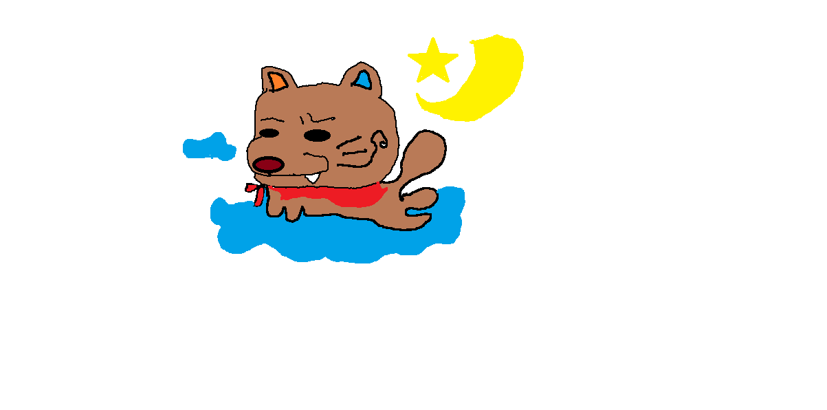 【怒り心頭!?】かわいいペットをキモカワイイ(ゆるキャラ風)のイラストにします
