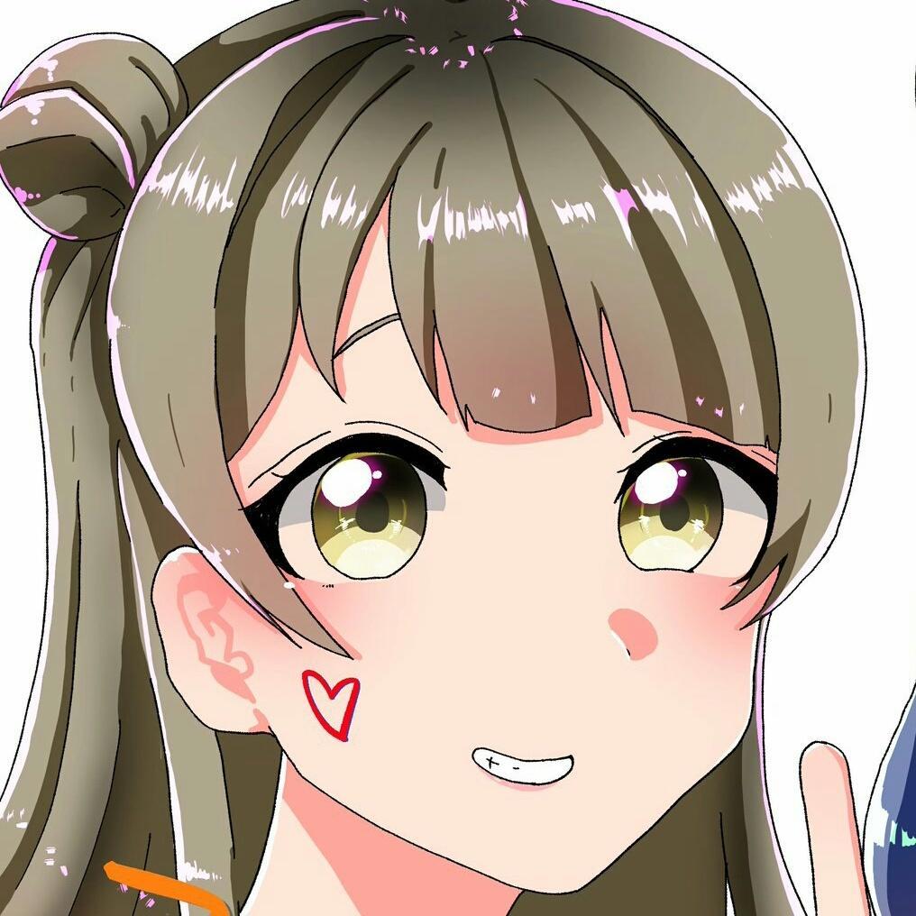 可愛い女の子アイコン描きます SNSやTwitterのアイコンを新しくしてみませんか?