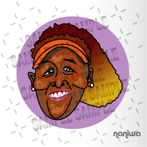 ユニークなデフォルメ似顔絵描きます 用途はいろいろ。まずは絵のタッチでお選びください