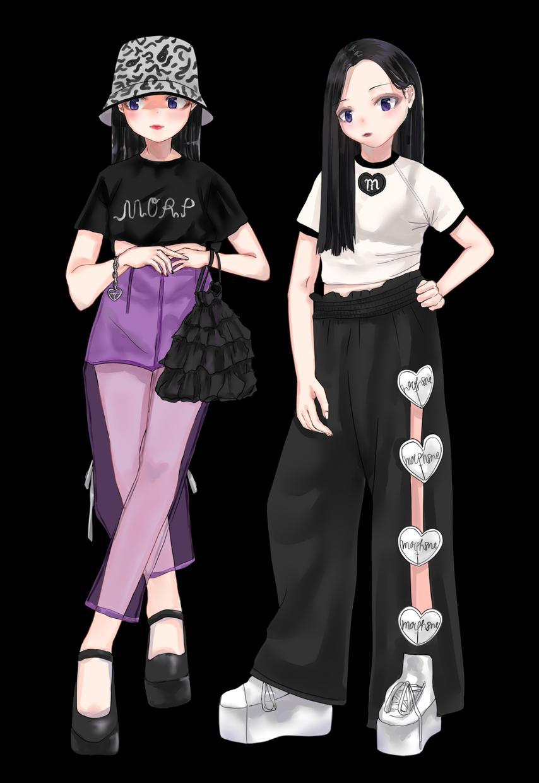 キャラクターデザインをします 服や装飾品にまで拘った魅力的なキャラクターをデザインします イメージ1