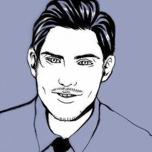 切絵風♪シャレな似顔絵を作成いたします SNS用アイコンなどをお探しの方へ!