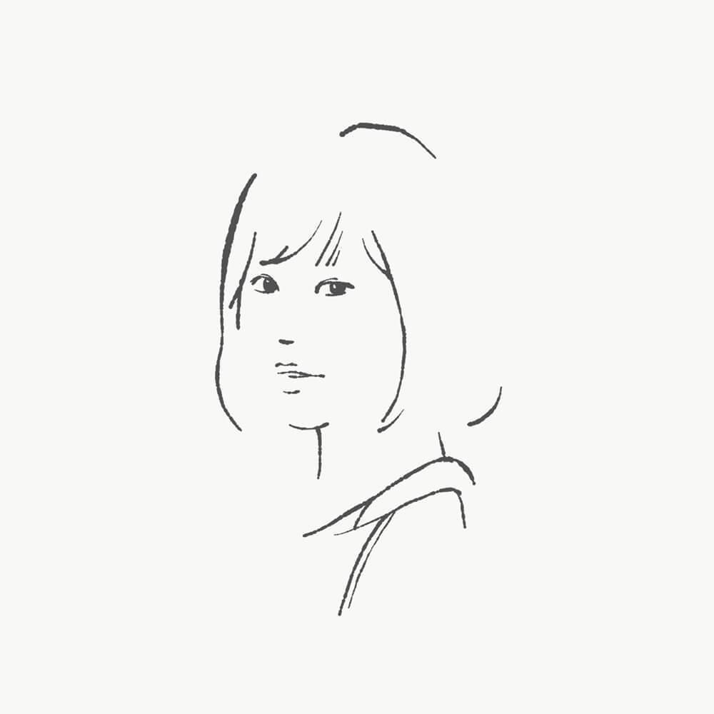 シンプルでお洒落なイラストお描きします 綺麗な線のシンプルなドローイングでイラスト描きます