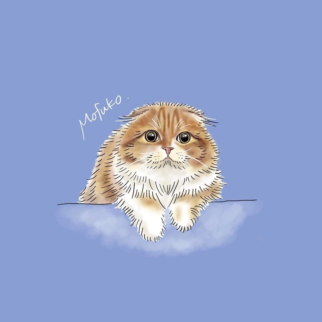 そっくりでおしゃれなペットのイラストを描きます ネコちゃんワンちゃんのイラストをおしゃれで可愛く仕上げます!