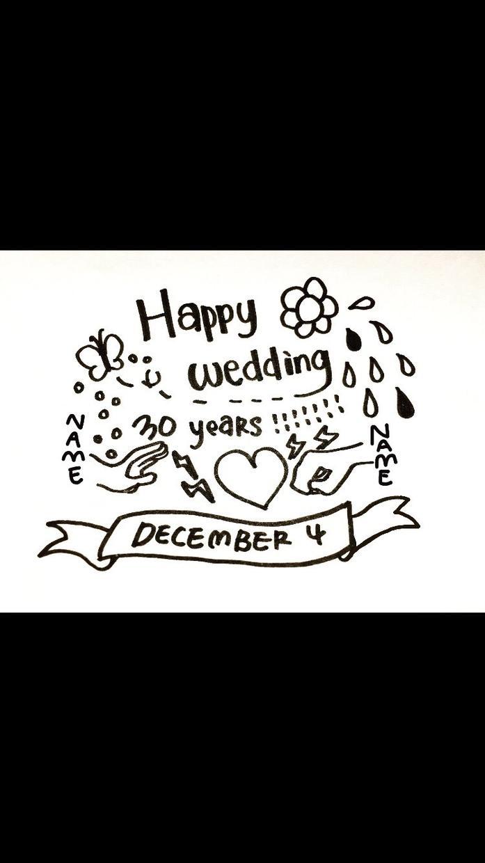ちょっとしたメッセージとイラストを描きます お誕生日や記念日にメッセージとイラストを添えたい方