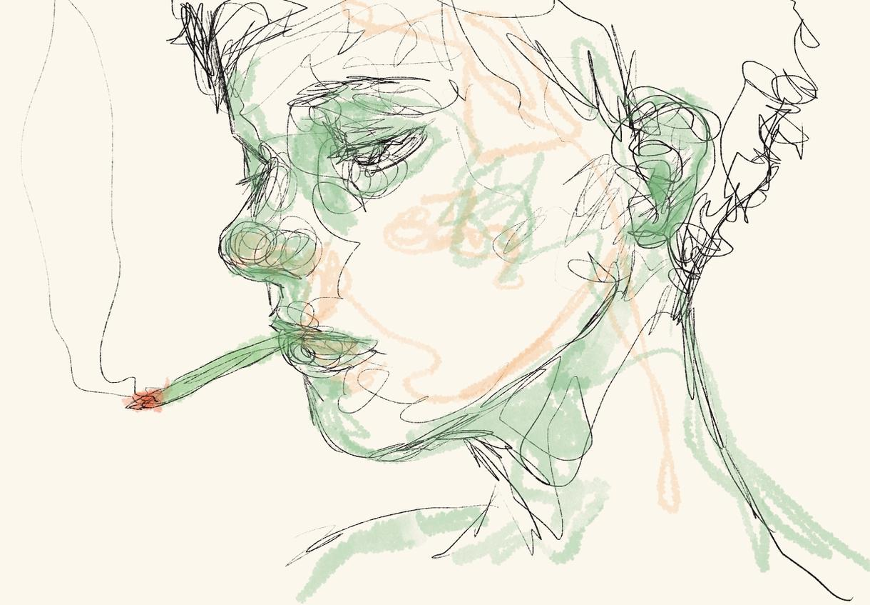 プロフ画像などに! ラインアートで人物お描きします 【ご所望の対象をラインアートに!リアル・デフォルメ】