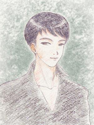 blogなどの背景用人物イラストを制作します 手描きのキレイなイラストがお好きな方へ