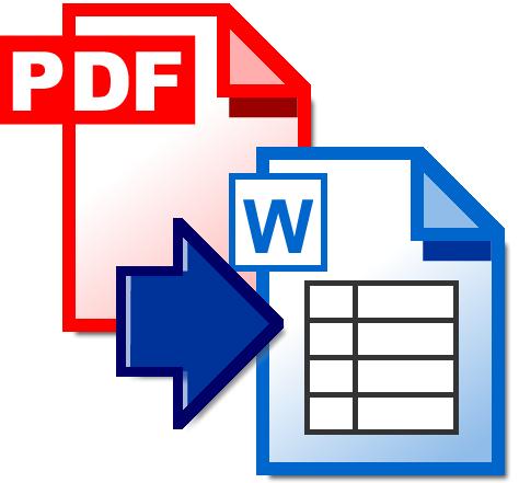 PDF形式の申請書等のファイルをワードで作ります イメージ1