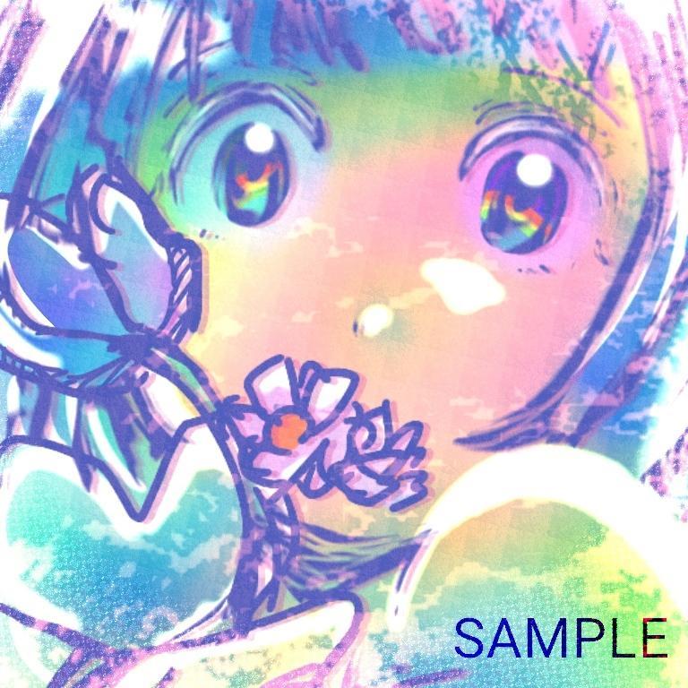 SNS用アイコン等 きらきらイラストお描きします 個性的で目立つイラストが欲しい方へ!