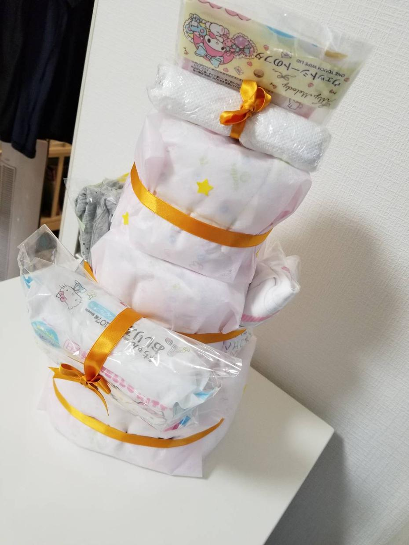 おむつケーキつくります 世界に一つのおむつケーキ作りませんか?オリジナルプレゼント