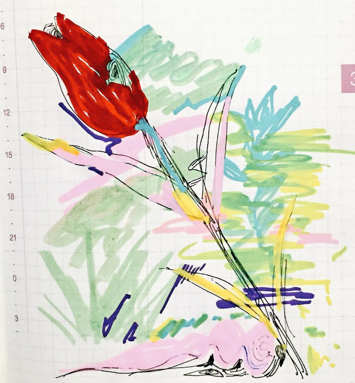挿絵・イラストを描きます ドローイング系 カラフルな色使いです