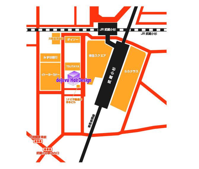 チラシに載せる地図をイラレで制作します わかりやすい地図で集客しよう!