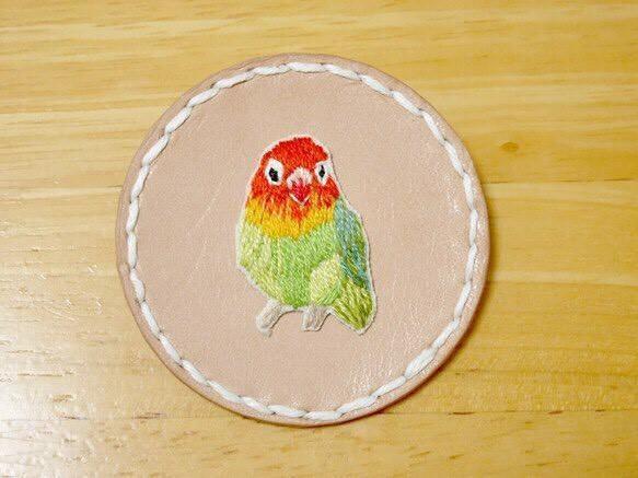 一点もの!手刺繍を制作します 愛犬、愛猫、愛インコ!可愛い動物刺繍をいたします。