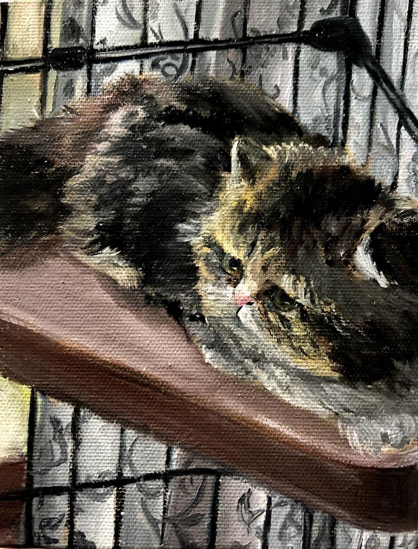 ペットの油絵描きます プレゼントやインテリアに最適です。